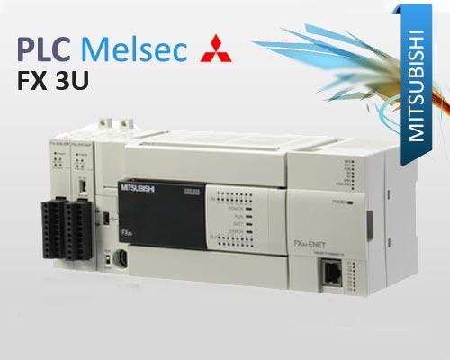 Mitsubishi-Compact-PLC-Melsec-FX3U
