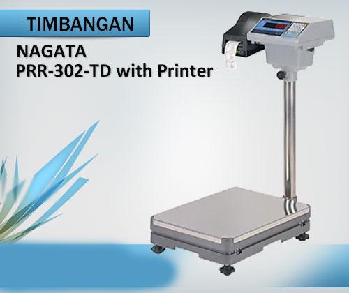 Weighing-Scale-(Timbangan-Berat)-Nagata-PRR-302-TD-with-printer